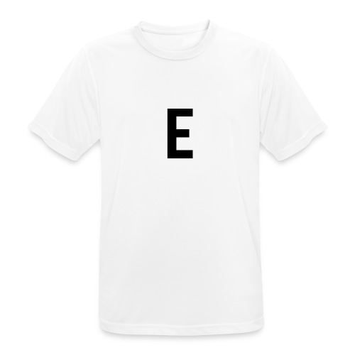 letter e 512 png - Men's Breathable T-Shirt