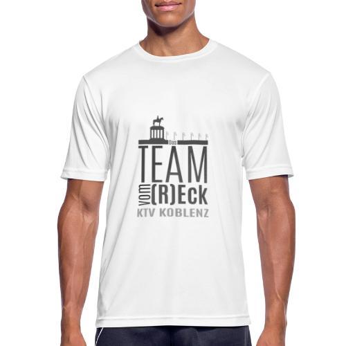 Shirt_Logo_2016_grau - Männer T-Shirt atmungsaktiv