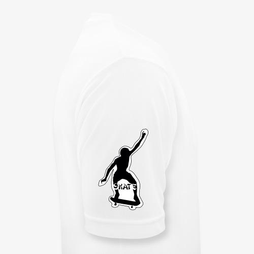 skate - Mannen T-shirt ademend actief