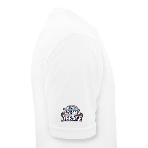Flat Earth Debate Solid - Men's Breathable T-Shirt