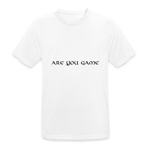 Slogan png - Herre T-shirt svedtransporterende