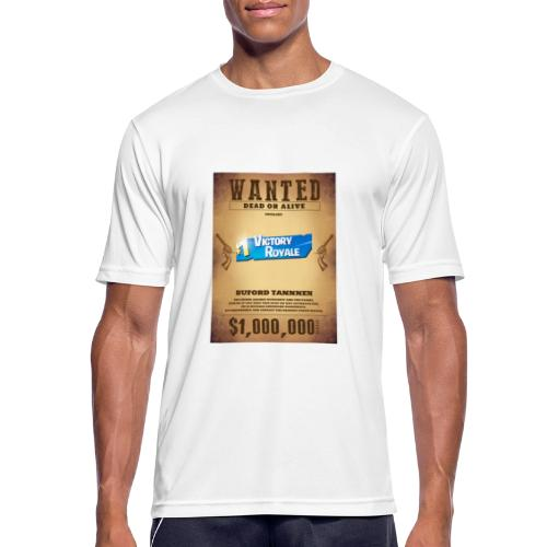 Man wanted - Men's Breathable T-Shirt