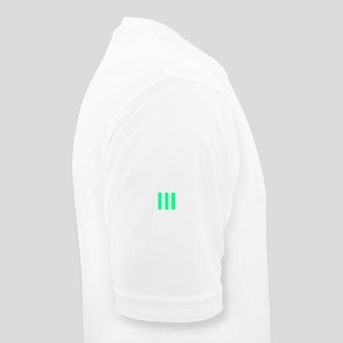 III Logo - Men's Breathable T-Shirt