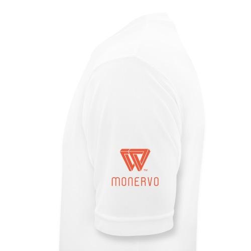 Monervo Transparent - Männer T-Shirt atmungsaktiv