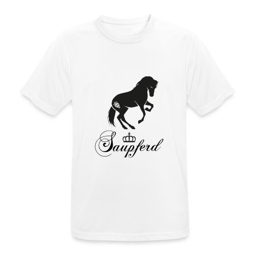 schriftzug_schwarz - Männer T-Shirt atmungsaktiv