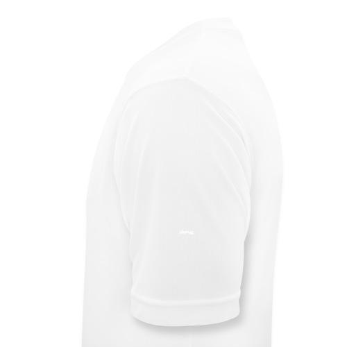 NOISEWALL WHITE LOGO - Maglietta da uomo traspirante