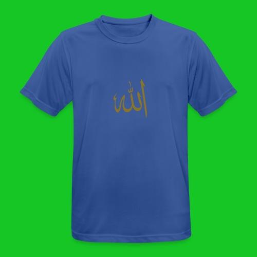 Allah - mannen T-shirt ademend
