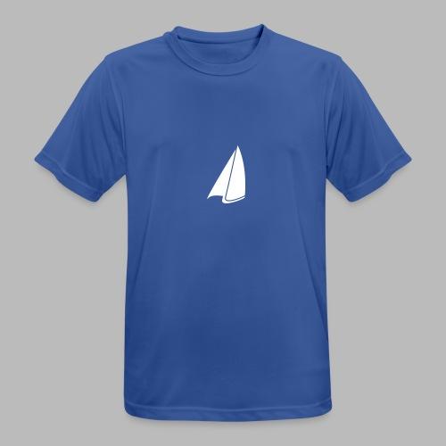 Segel Einfarbig - Männer T-Shirt atmungsaktiv