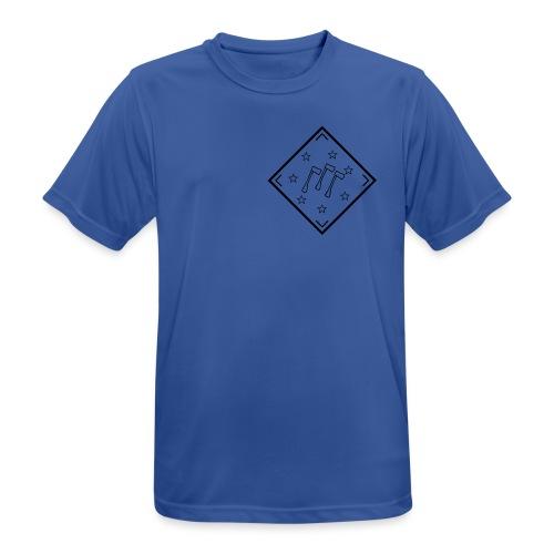 klapaset_logo - miesten tekninen t-paita