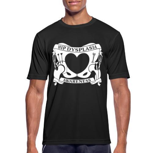 Hip Dysplasia Awareness - Men's Breathable T-Shirt