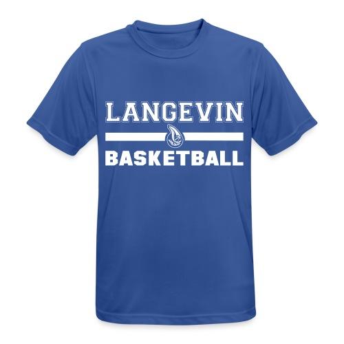 LangevinLogoBasketball st - T-shirt respirant Homme