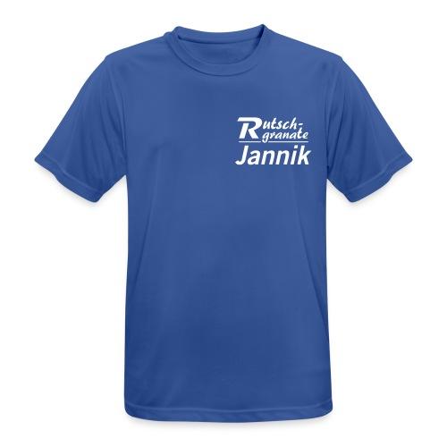 Logo Rutschgranate Jannik - Männer T-Shirt atmungsaktiv