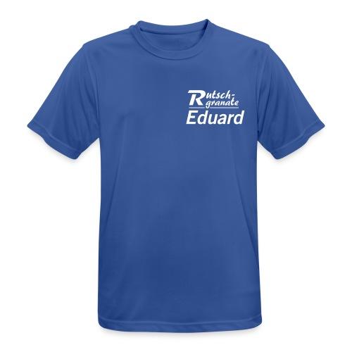 Logo Rutschgranate Eduard - Männer T-Shirt atmungsaktiv