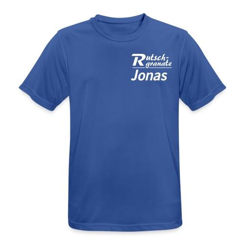 Logo Rutschgranate Jonas - Männer T-Shirt atmungsaktiv