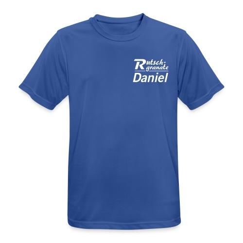 Logo Rutschgranate Daniel - Männer T-Shirt atmungsaktiv