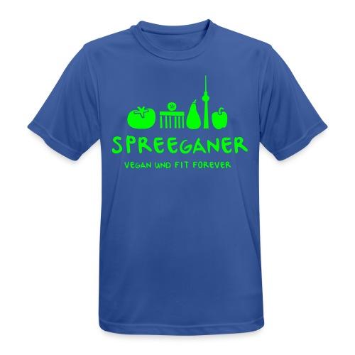 Spreeganer Logo - Männer T-Shirt atmungsaktiv