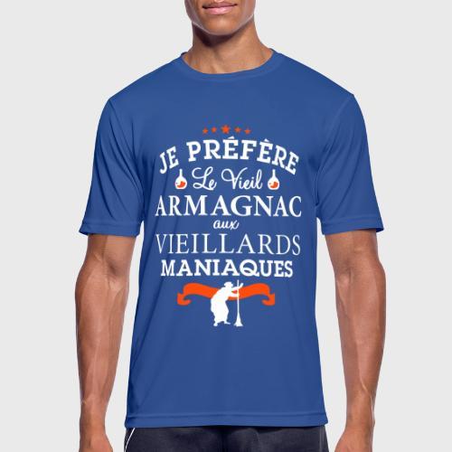 Vieil Armagnac - Humour Alcool - T-shirt respirant Homme