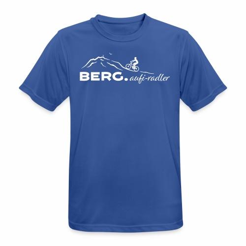 BERG.aufi-radler - Männer T-Shirt atmungsaktiv
