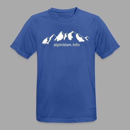 Berge alpinisten.info - Männer T-Shirt atmungsaktiv