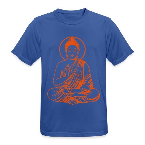 Buddha-Vektor-Outline - Männer T-Shirt atmungsaktiv