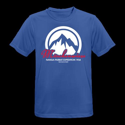 Märchenwiese - Männer T-Shirt atmungsaktiv