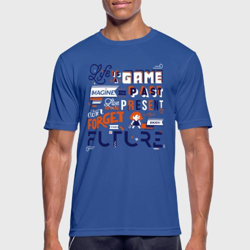 Life is a Game - T-shirt respirant Homme