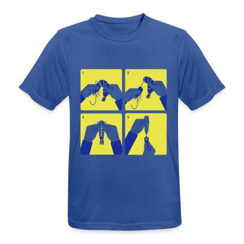 peel shrimp - Men's Breathable T-Shirt