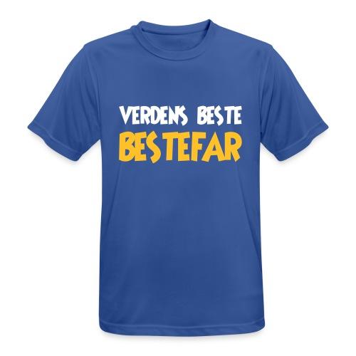 Verdens beste bestefar - Men's Breathable T-Shirt