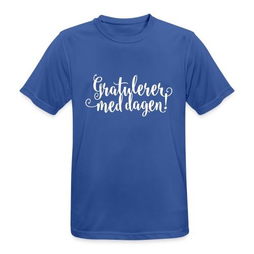 Gratulerer med dagen! - plagget.no - Pustende T-skjorte for menn