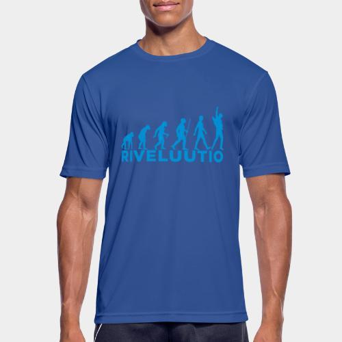 Riveluutio - miesten tekninen t-paita