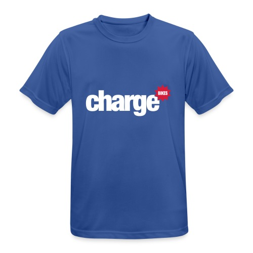 Charge_Logo 50 - Men's Breathable T-Shirt