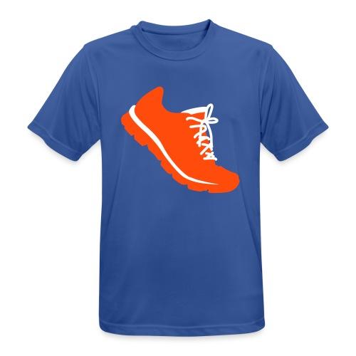 Laufschuh - Männer T-Shirt atmungsaktiv