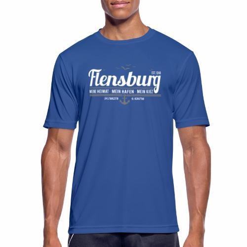 Flensburg - meine Heimat, mein Hafen, mein Kiez - Männer T-Shirt atmungsaktiv