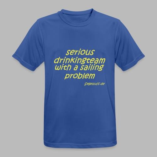 segeln mal anders - Männer T-Shirt atmungsaktiv