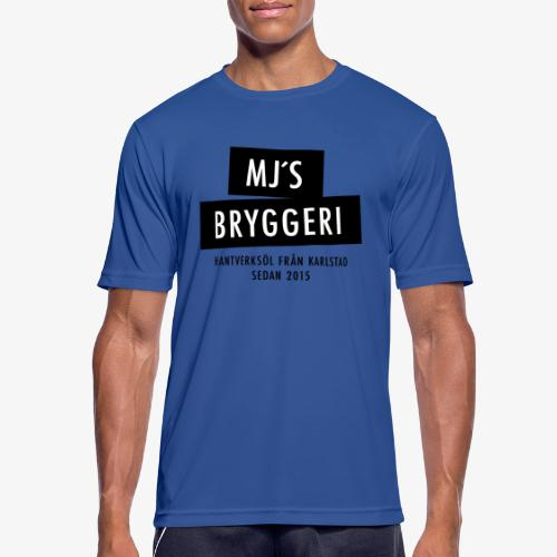 MJs logga - Andningsaktiv T-shirt herr