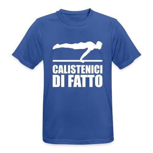 Logo Calistenici di Fatto - Maglietta da uomo traspirante