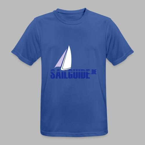 Sailguide - Männer T-Shirt atmungsaktiv