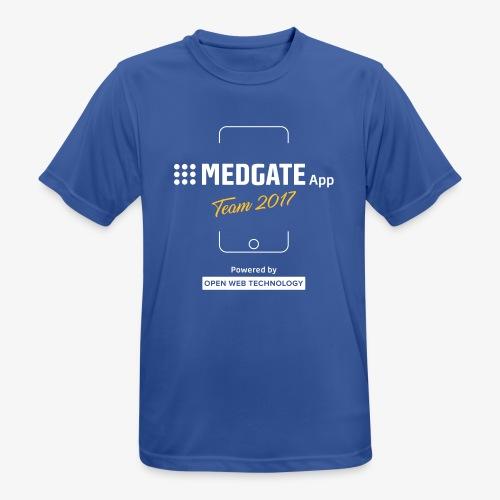 Medgate App Team 2017 Dark - Männer T-Shirt atmungsaktiv