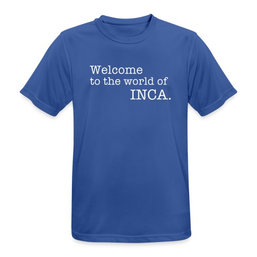 Welcome to the world of INCA - Men's Breathable T-Shirt