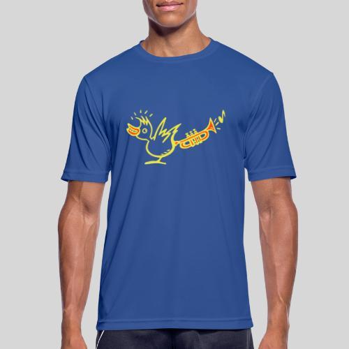 trompetenvogel - Männer T-Shirt atmungsaktiv