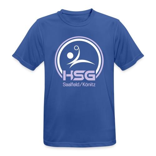 Logo HSG Saalfeld Koenitz - Männer T-Shirt atmungsaktiv