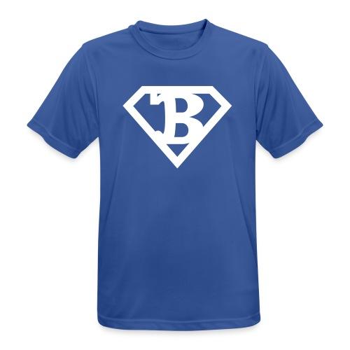 Polterabend Pentagon - Herre T-shirt svedtransporterende