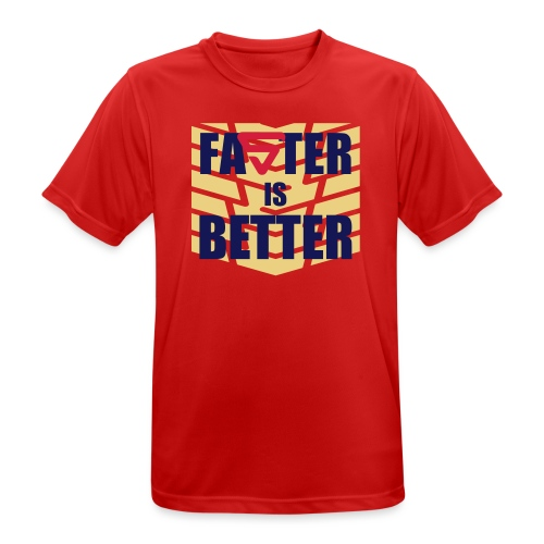 Faster is Better - T-shirt respirant Homme