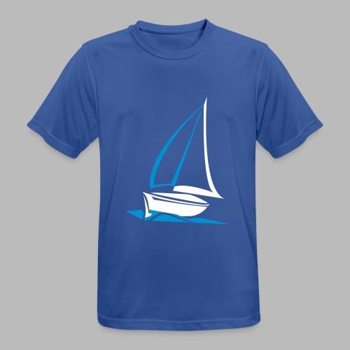 segelyacht - Männer T-Shirt atmungsaktiv