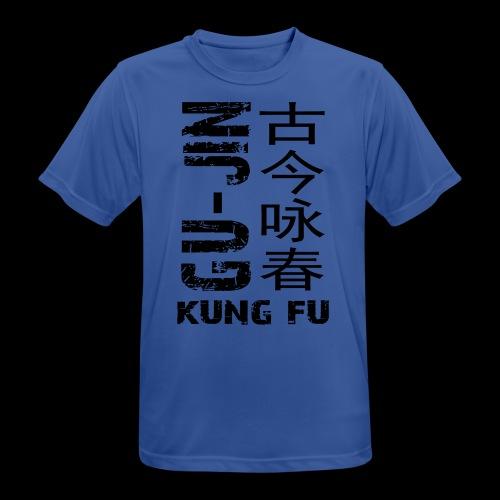 Black Logo Student 1-4 - Men's Breathable T-Shirt