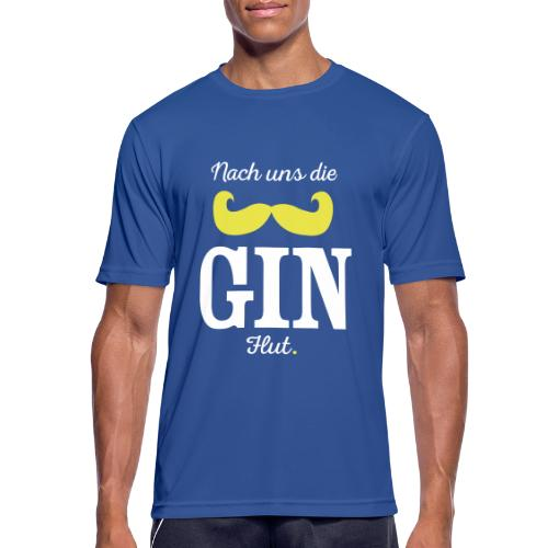 Nach uns die Gin-Flut - Männer T-Shirt atmungsaktiv
