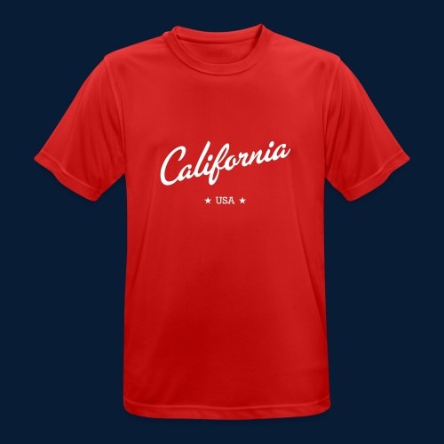 California - Männer T-Shirt atmungsaktiv