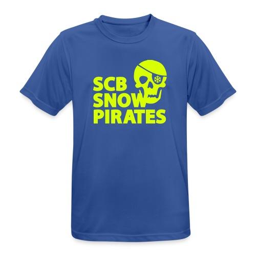 Logo_SCB_SnowPirates - Männer T-Shirt atmungsaktiv