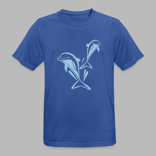 delfinpower - Männer T-Shirt atmungsaktiv