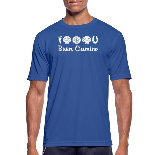 Buen_Camino_4 - Männer T-Shirt atmungsaktiv